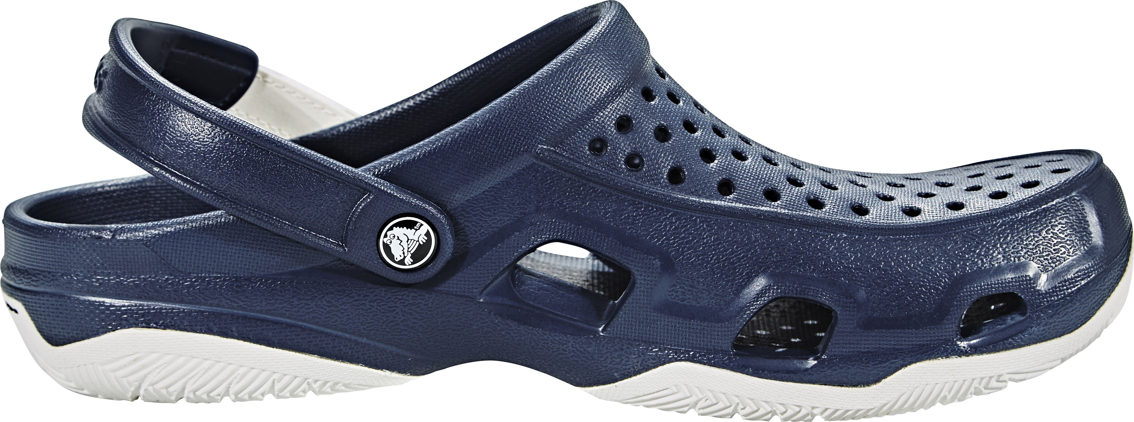 99104b90f244f Crocs Swiftwater Deck Sandals Men blue at Addnature.co.uk